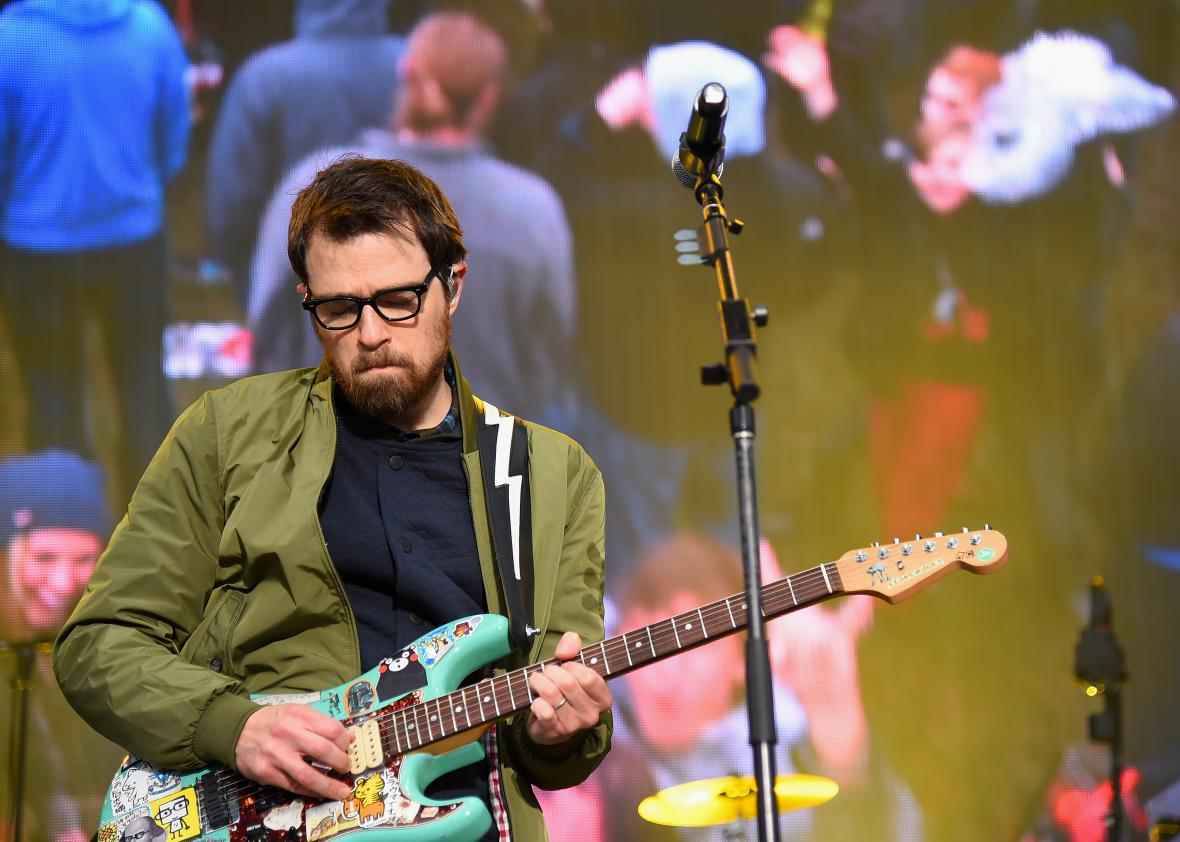 468541030-rivers-cuomo-of-the-band-weezer-performs-onstage-during
