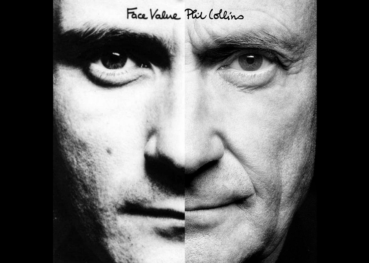 Phil Collins, before and after