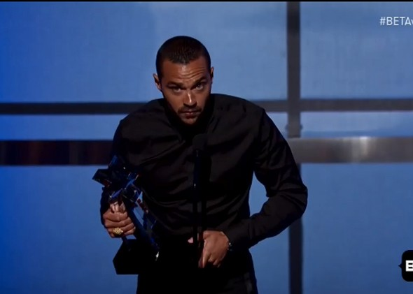 Watch Actor and Activist Jesse Williams' Fiery Speech at the BET Awards