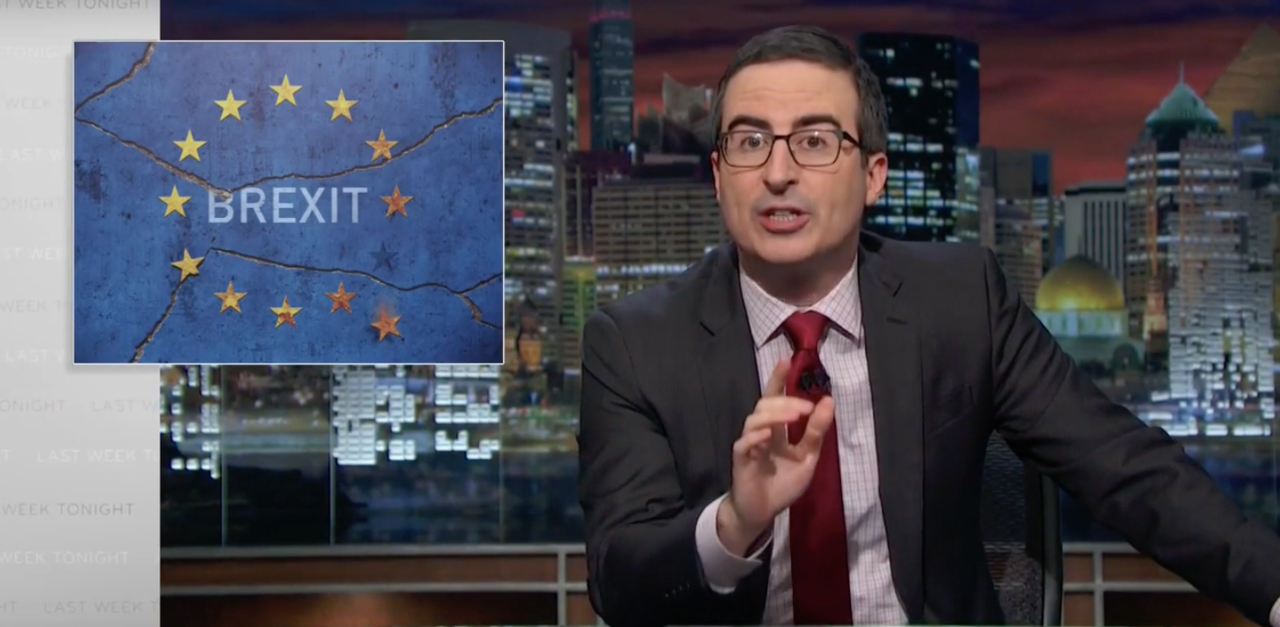 """John Oliver Turned the Brexit Disaster Into a Warning About Trump:""""There Are No F--king Do-Overs"""""""