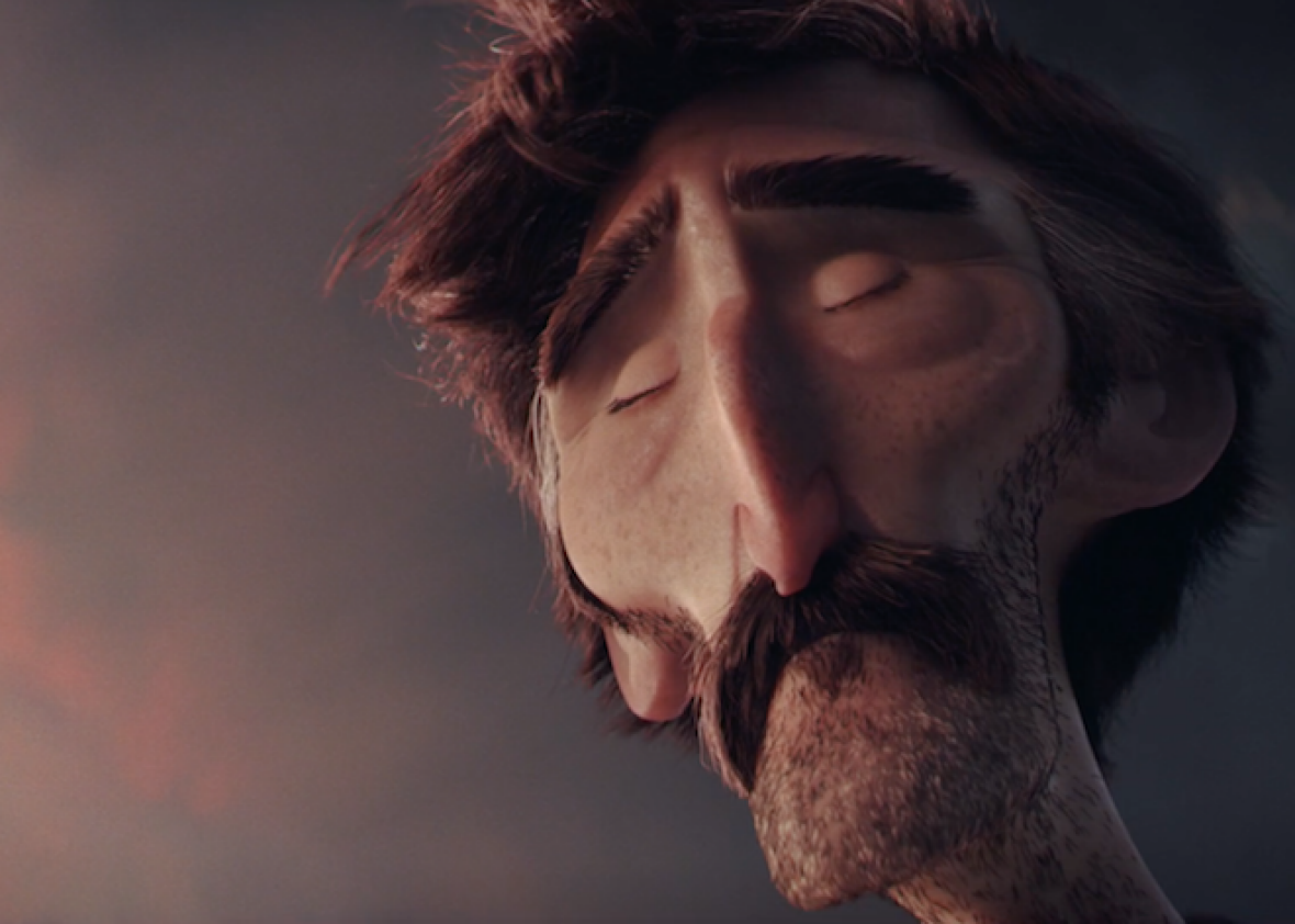 Watch the new, shockingly dark short Borrowed Time from two Pixar animators (VIDEO).