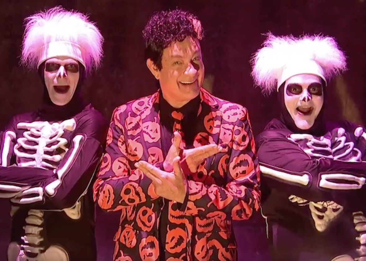 tomhanksdavidspumpkinssnl  sc 1 th 190 & How to dress like David S. Pumpkins for Halloween.