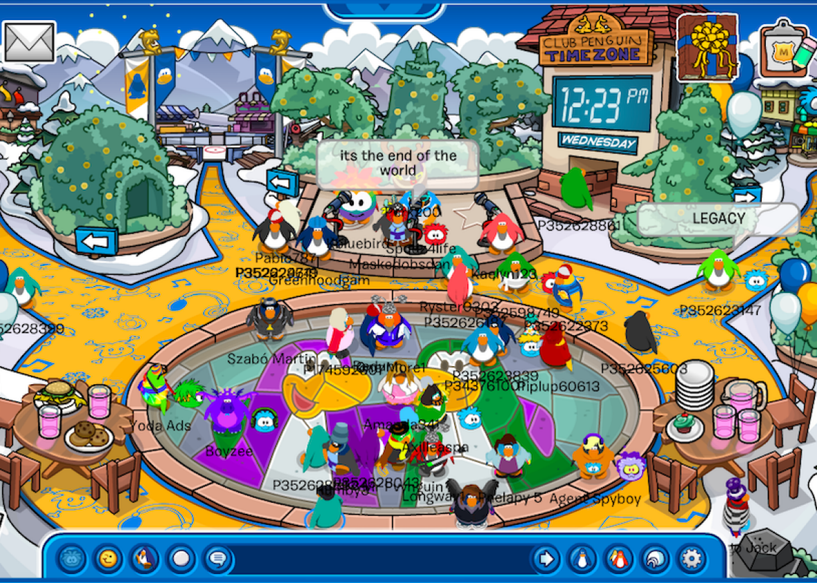 H Club Penguin What the end of...