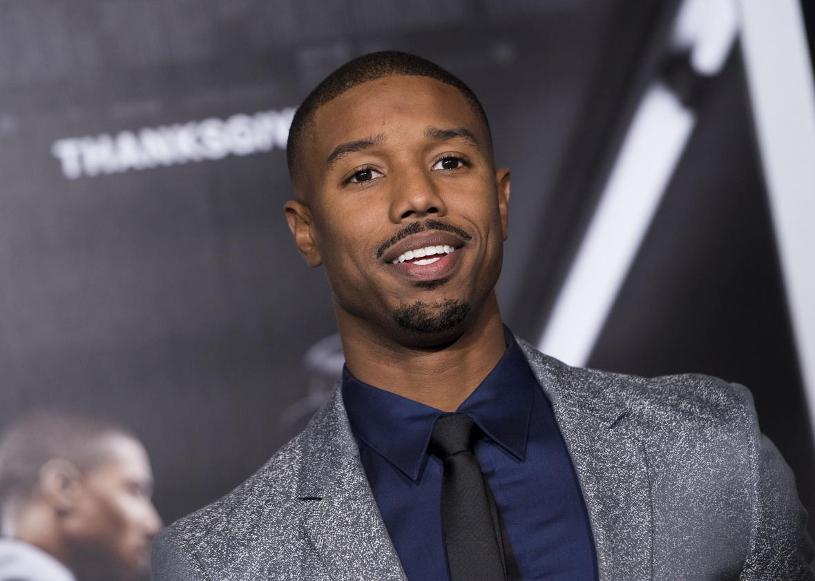 Actor Michael B Jordan Attends The Los