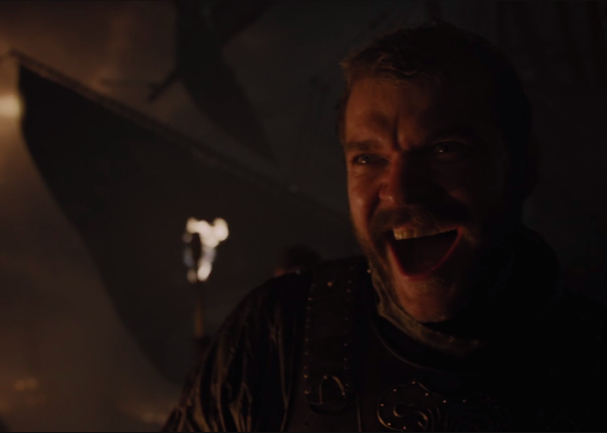 "Euron Greyjoy is the worst person in Westeros for ""Stormborn."""
