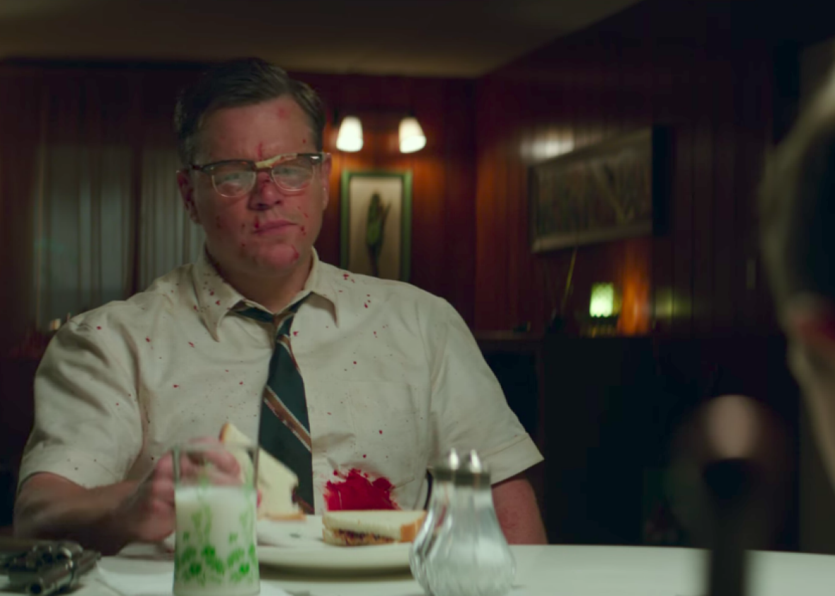 Matt Damon + Julianne Moore in Clooney-Directed 'Suburbicon' Trailer