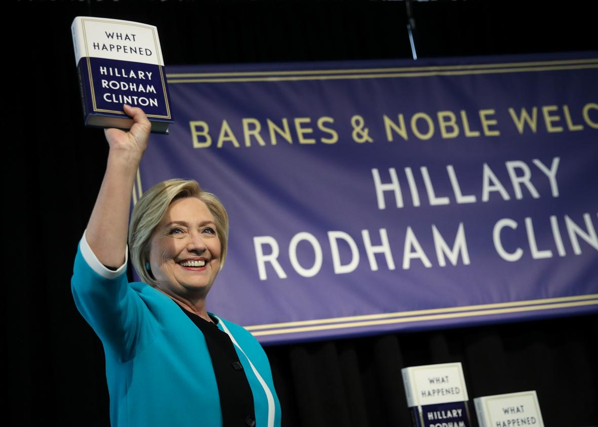 Hillary-Clinton-Signs-Copies-Of-Her-New-Book-