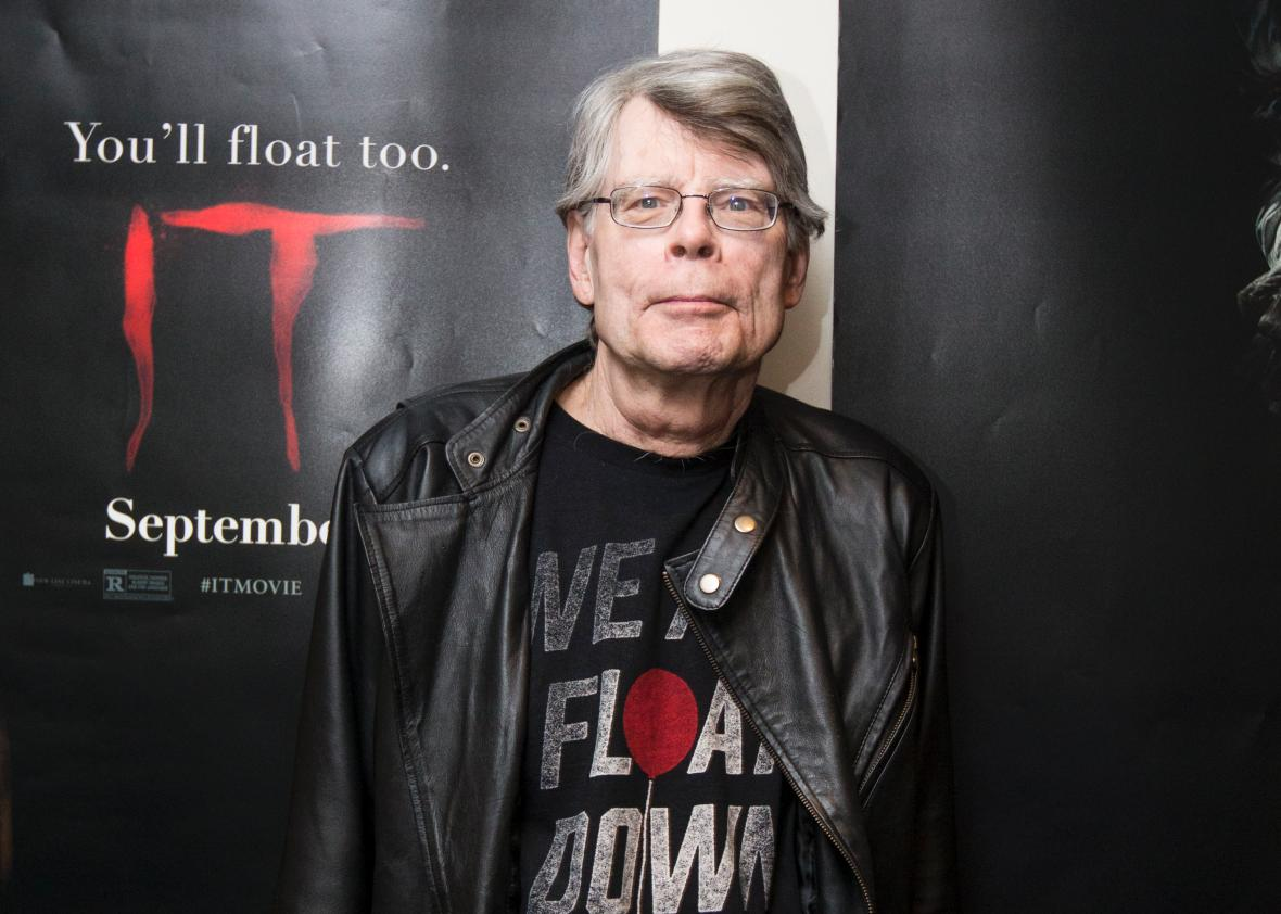 Stephen King on Netflix, It, and his big year. Stephen King