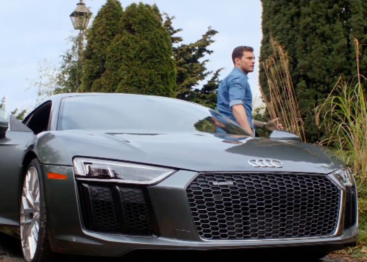 Audi Is The Star Of The New Fifty Shades Freed Trailer VIDEO - Audi car in 50 shades of grey