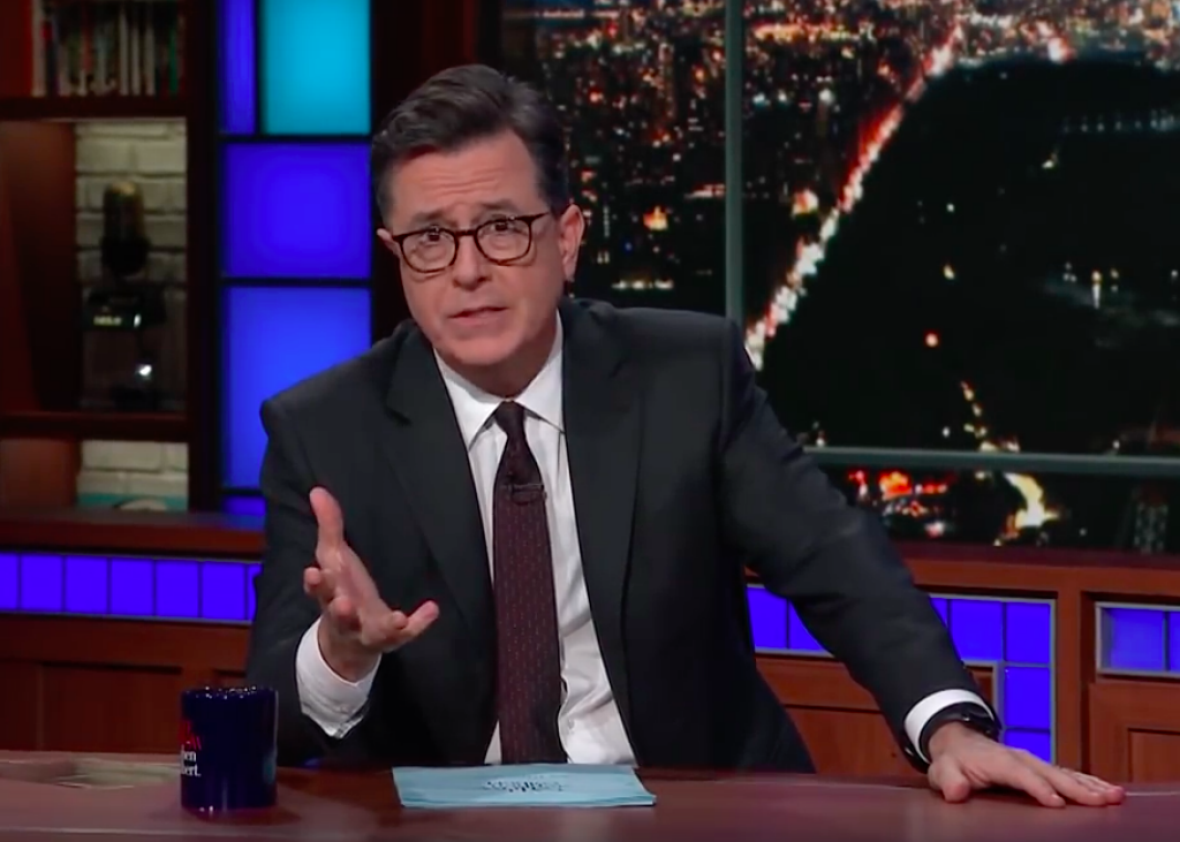 Stephen Colbert Delivers Rousing Call To Action In Wake Of Texas Massacre