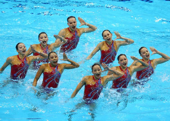 Synchronized Swimming London Olympics A Brief History Of