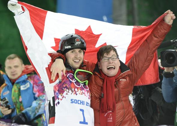 Alex and Frédéric Bilodeau