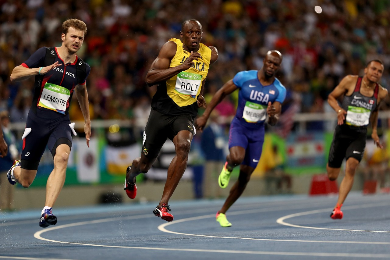 Usain bolt has won two gold medals at the 2016 olympics but his best race was a 200 meter - Usain bolt running hd photos ...