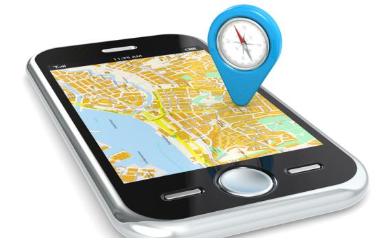 cellphone tracking photo illustration