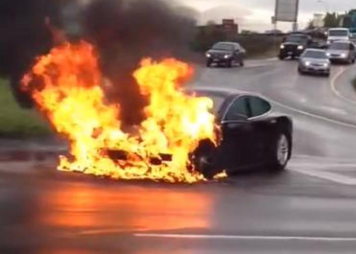 Car Battery Fire Causes