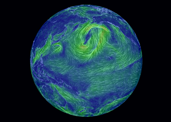 Global Wind Map 2