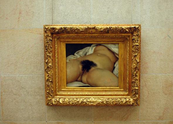The Origin of the World by Gustave Courbet.