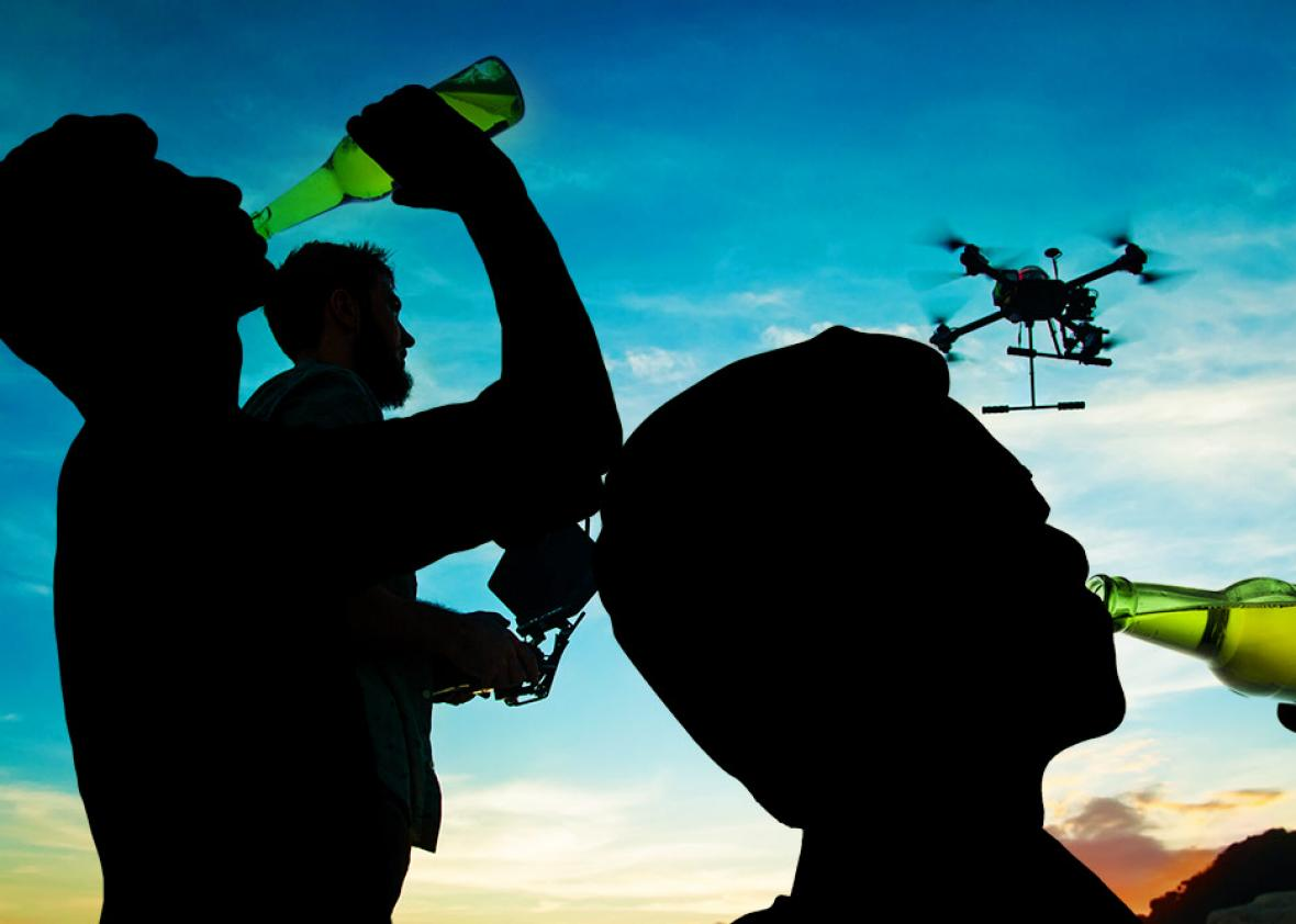 Don't drink and drone