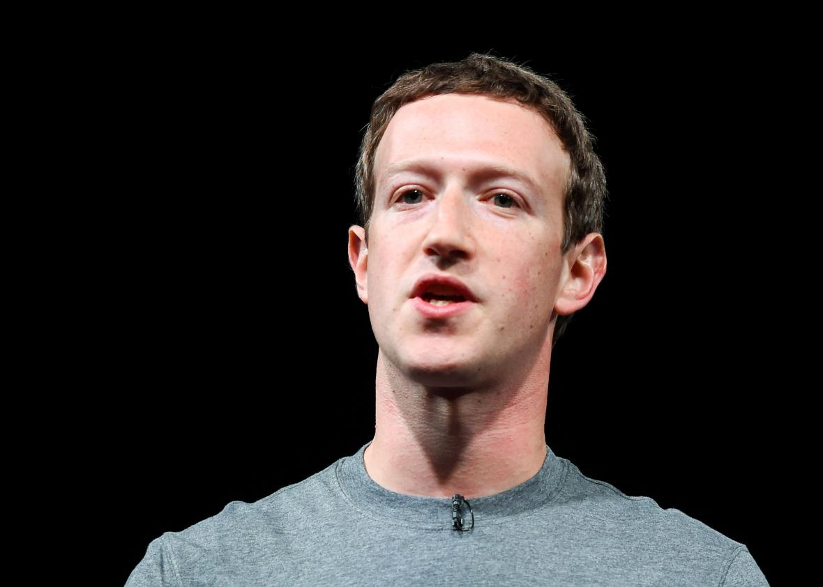 The problem with Mark Zuckerberg's new Facebook manifesto ... Mark Zuckerberg