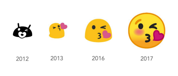 google s latest android update is getting rid of its weird blob emojis