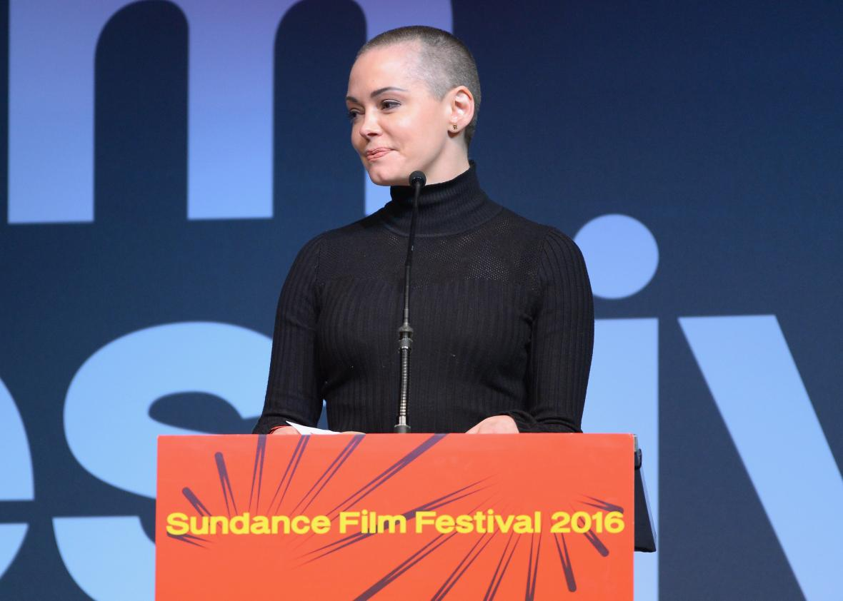 twitter limits rose mcgowan s account after her