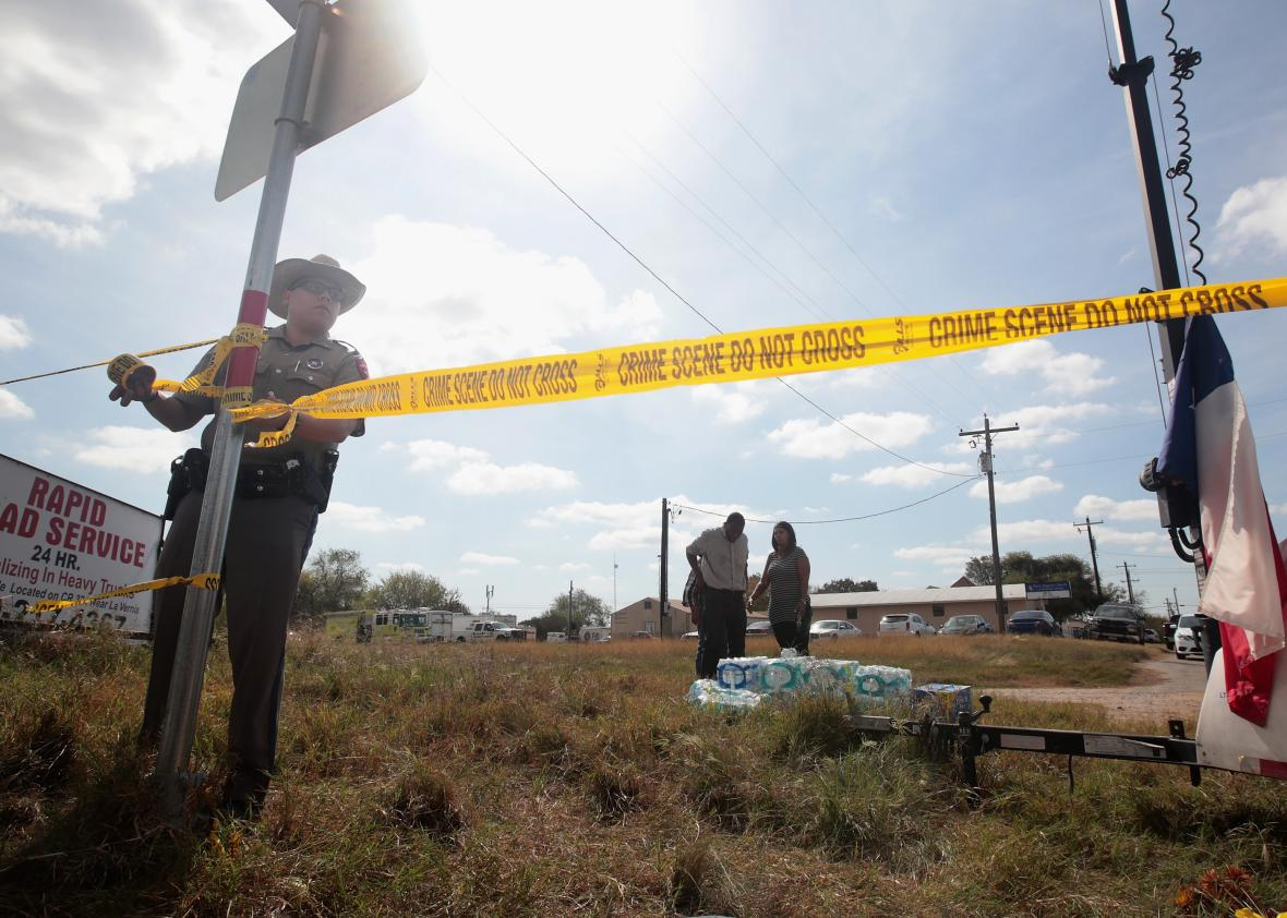 26-People-Killed-And-20-Injured-After-Mass-Shooting-At-Texas-Church
