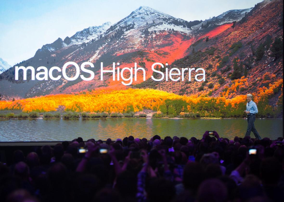 Apple's High Sierra operating system has a bug allowing