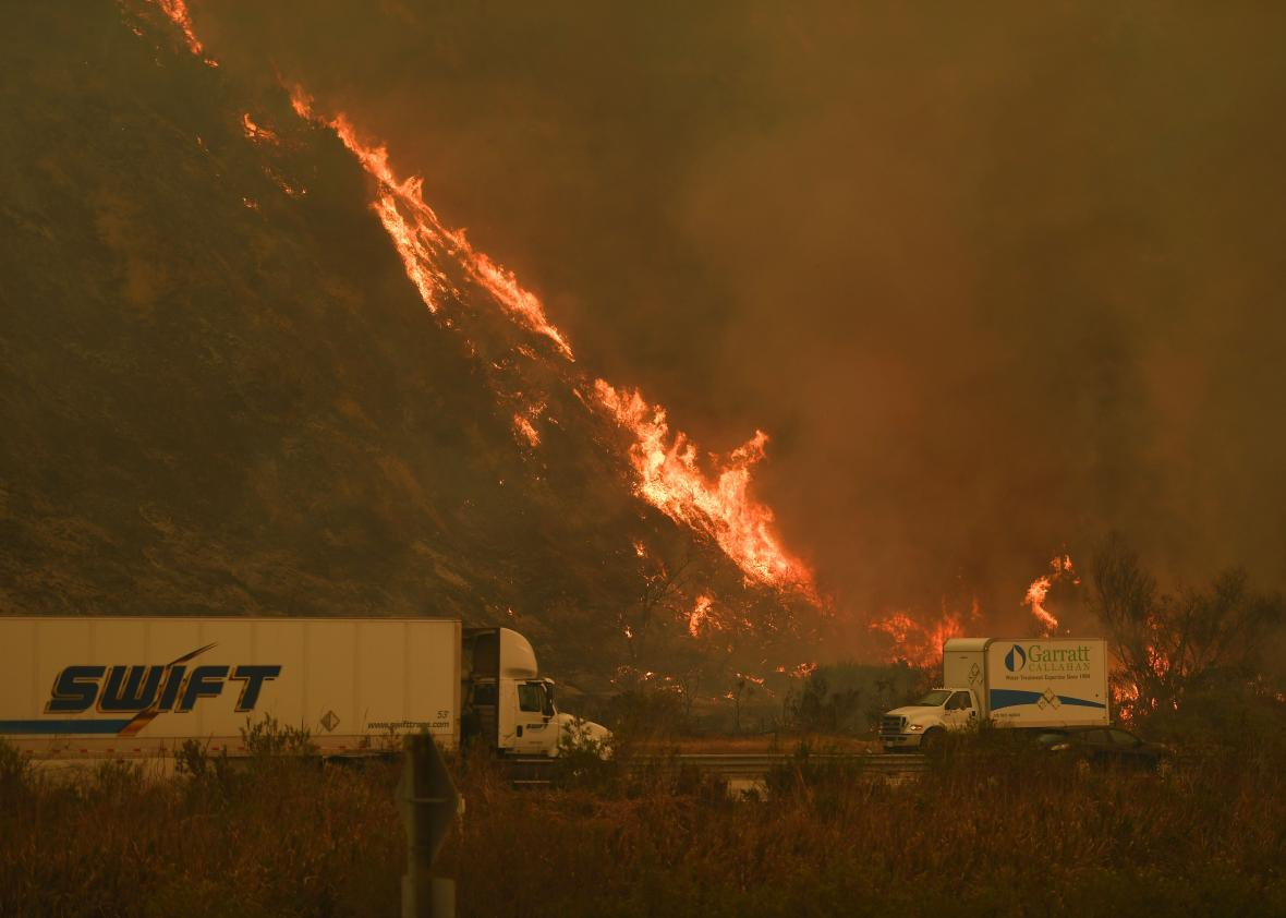 California wildfires raise questions about whether you can trust