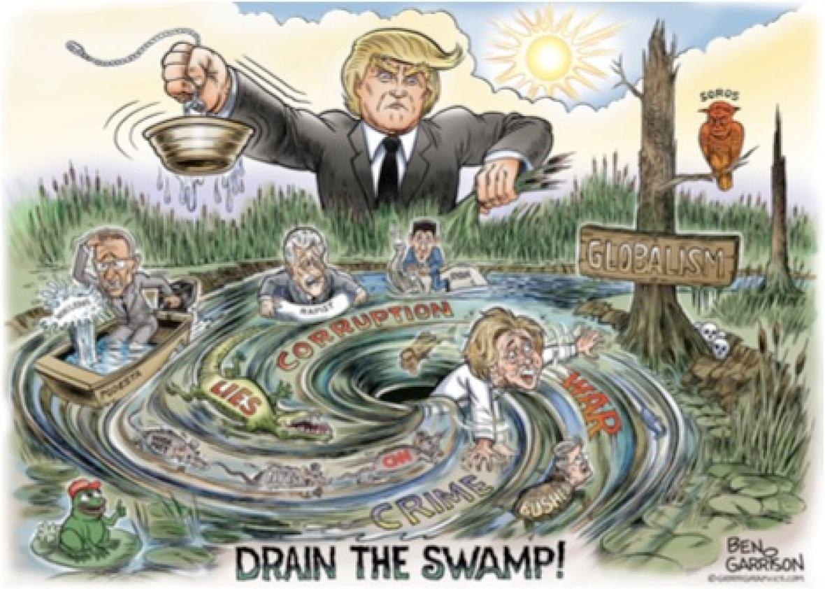 Image result for draining swamp