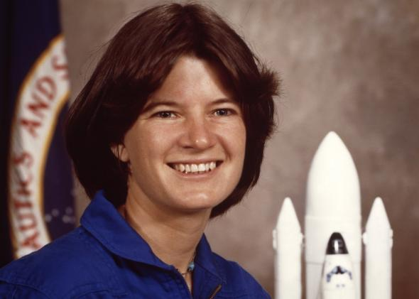 Sally Ride in 1983