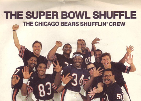 Cover art for The Super Bowl Shuffle by the Chicago Bears Shufflin    Walter Payton Super Bowl Shuffle