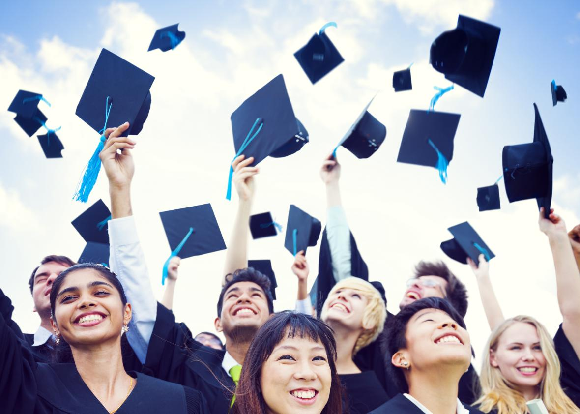 High school graduation rates are rising—and students ...