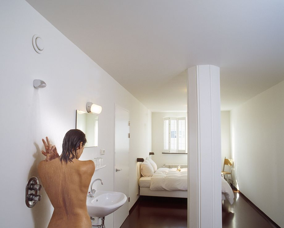 Master Bedroom With Open Bathroom bathrooms without borders: the end of privacy at home?
