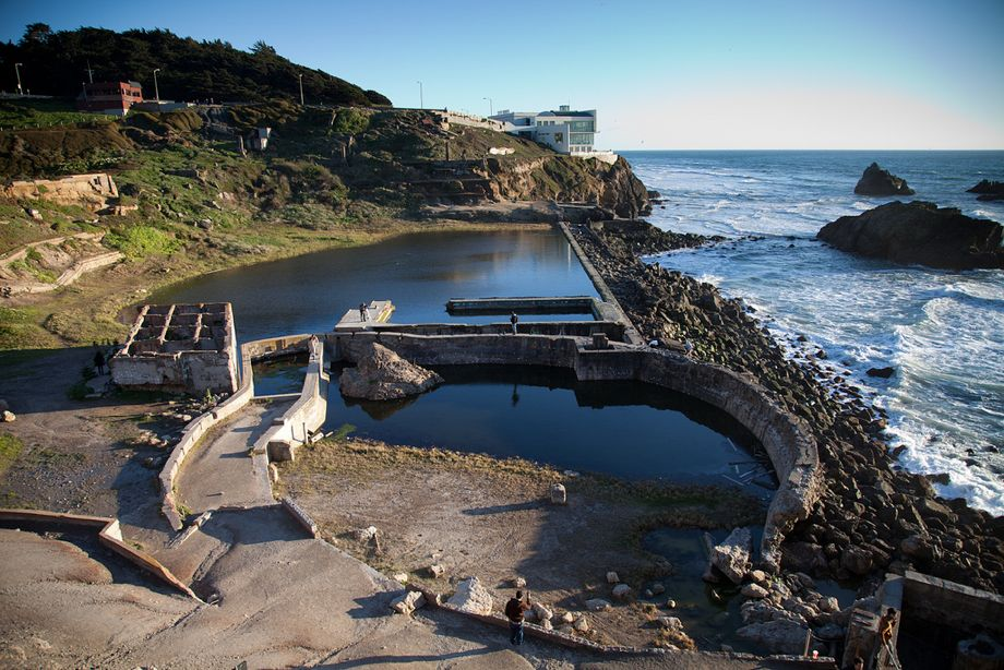 Sutro Baths, San Francisco, in 2011.