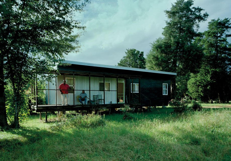 Rural Studio builds nd new $20,000 houses in Alabama. on