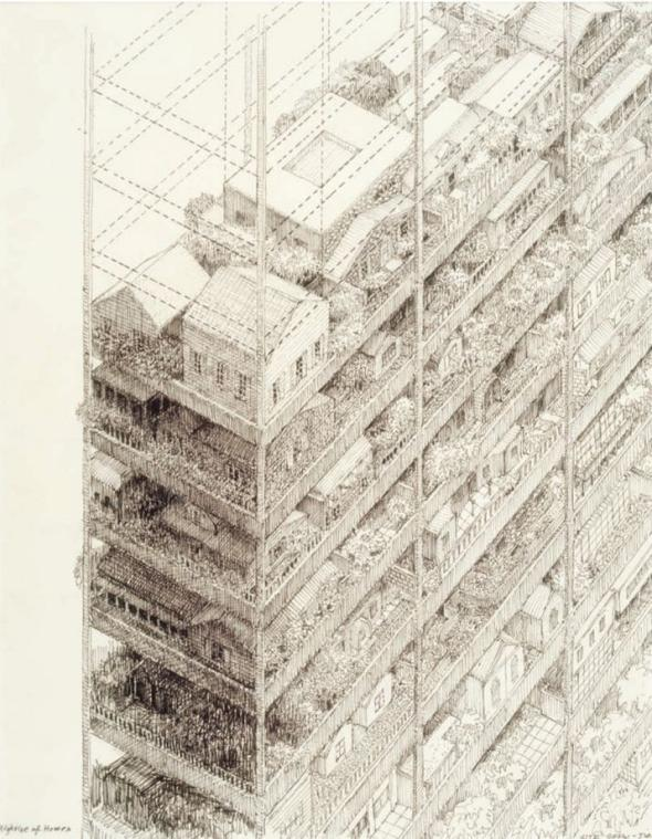 Years Of Architectural Drawing By Neal Bingham Chronicles A