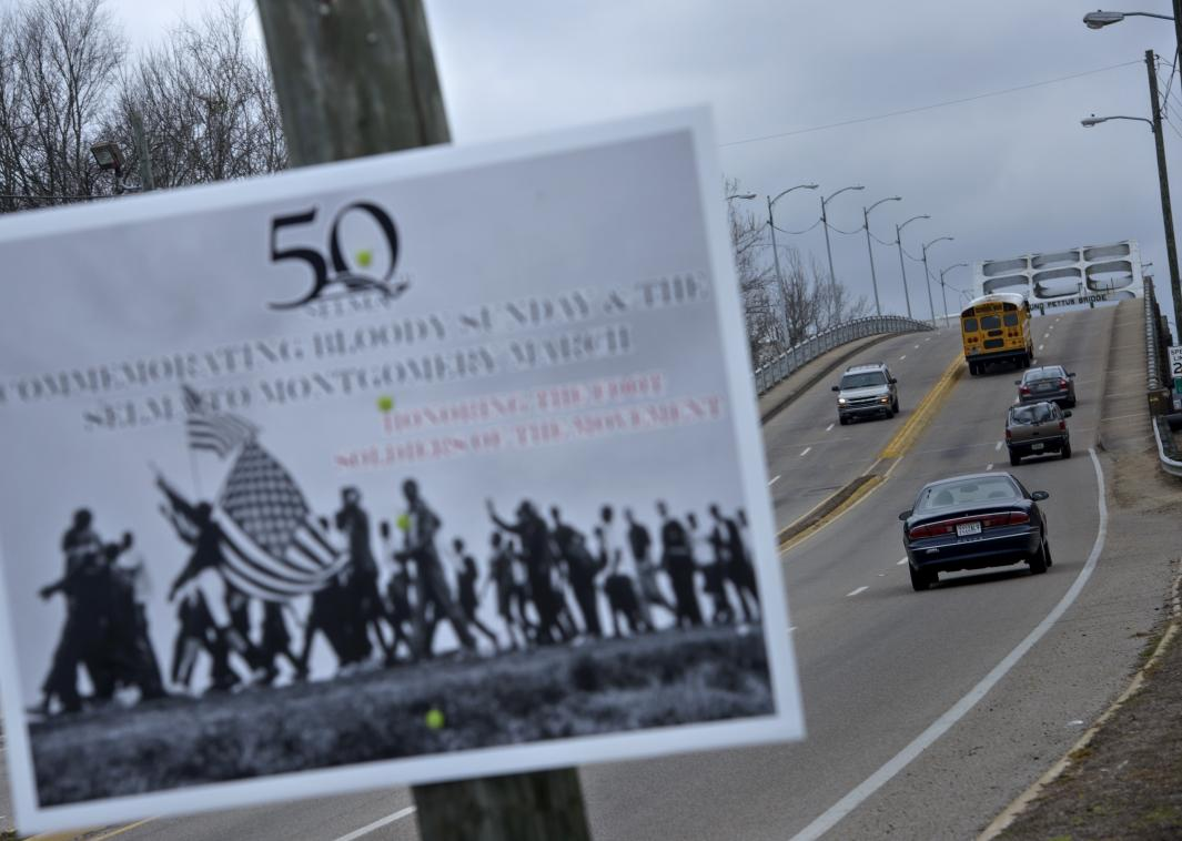 465299992-sign-commemorating-voting-rights-marches-is-seen-at-the