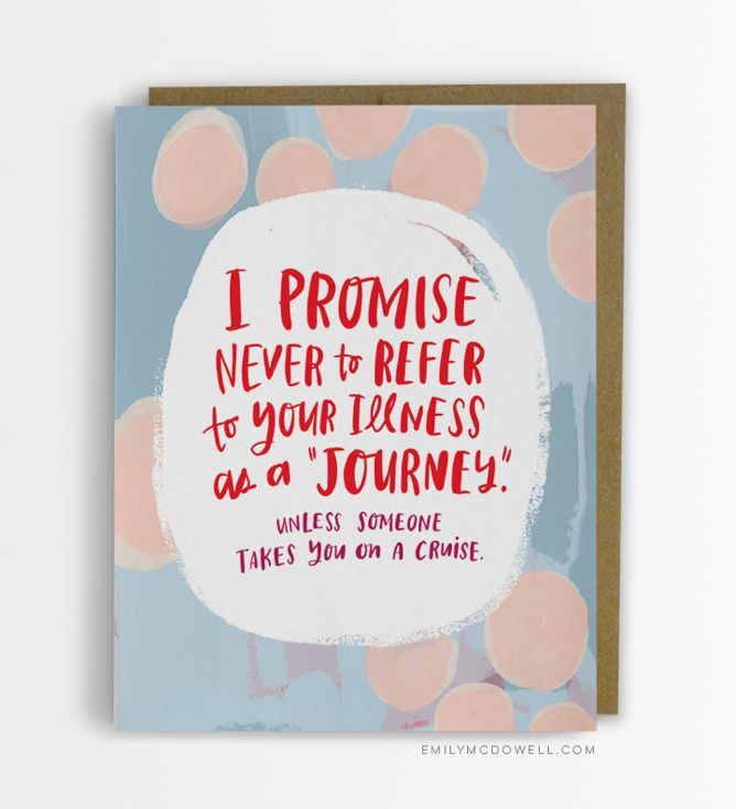 Empathy cards by emily mcdowell are greeting cards designed for empathy cards by emily mcdowell are greeting cards designed for cancer patients by a cancer survivor gregs webvault m4hsunfo