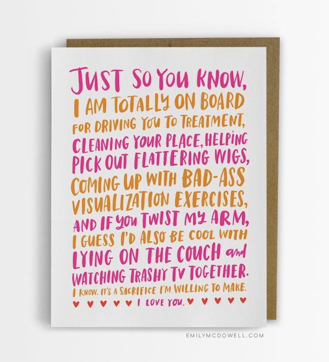 Empathy Cards By Emily Mcdowell Are Greeting Cards Designed For