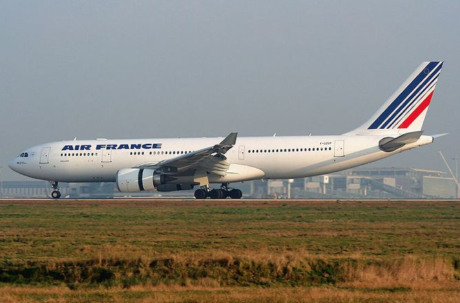 The Air France Airbus A330 That Crashed Into Atlantic In 2009 Lands At Paris Charles De Gaulle Airport 2007