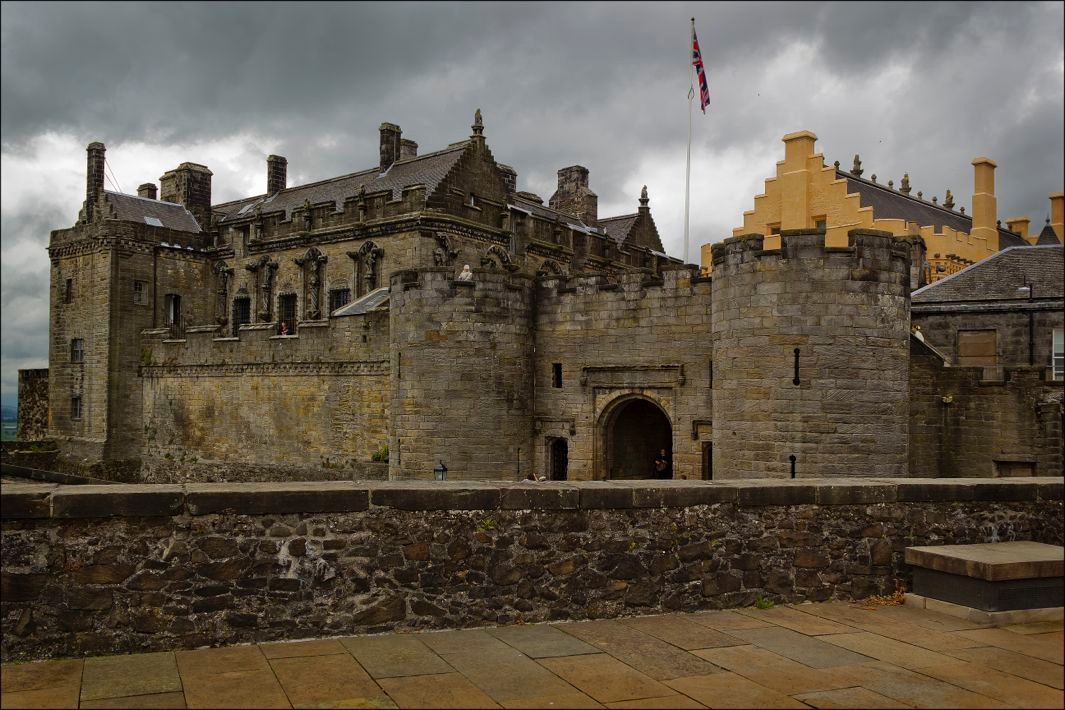 Scotland's Stirling Castle: The Great Hall illustrates the
