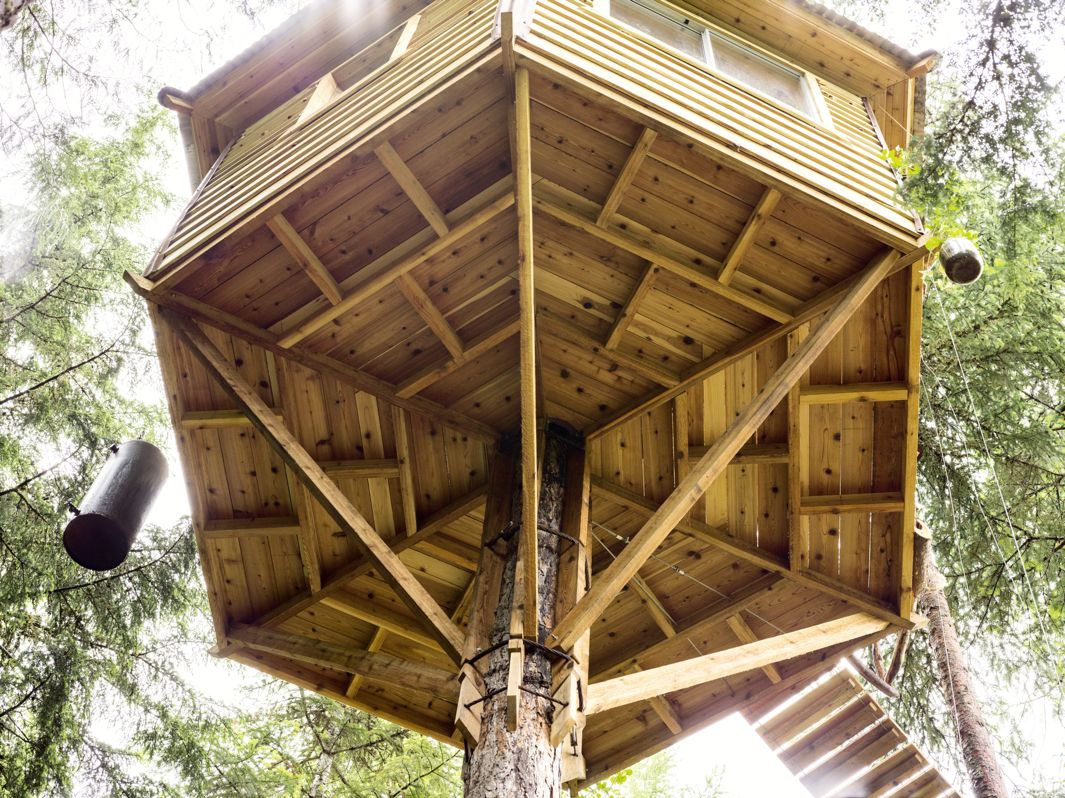 Large tree house plans