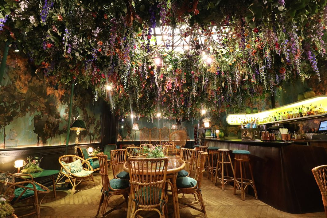 Sketch London Honors The Chelsea Flower Show With A Fairytale Interior Garden Of Its Own.