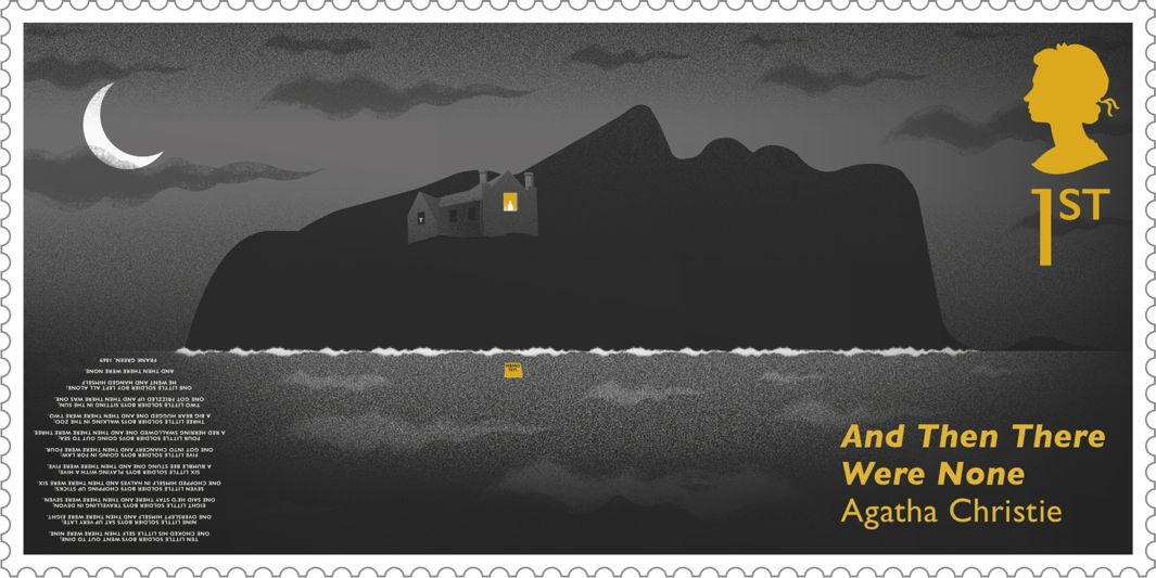 Britain Creates A Series Of Stamps Embedded With Hidden Clues To
