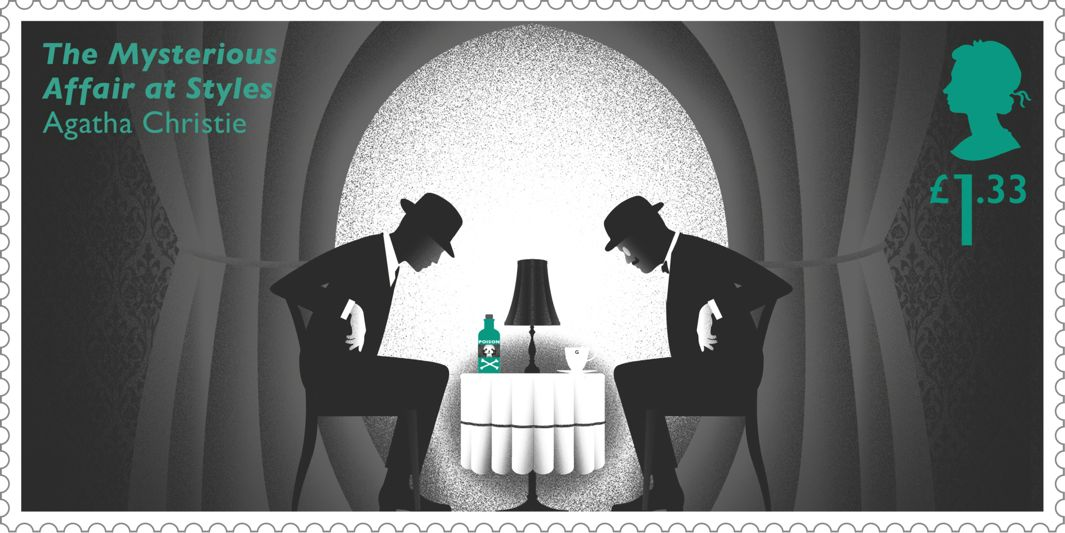 Britain Releases Postage Stamps Embedded With Hidden Clues to Honor Agatha Christie