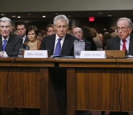Slatest PM: Hagel's Long Day on the Hill