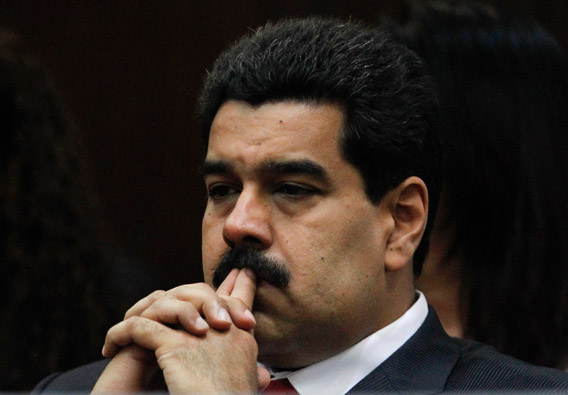 Venezuela's Vice President Nicolas Maduro attends the National Assembly inauguration in Caracas January 5, 2013.