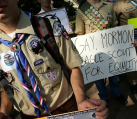 Boy Scouts Weigh Deal to Welcome Gay Scouts, But Not Leaders