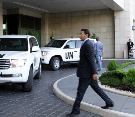 U.N. Begins Process of Destroying Syrian Chemical Weapons