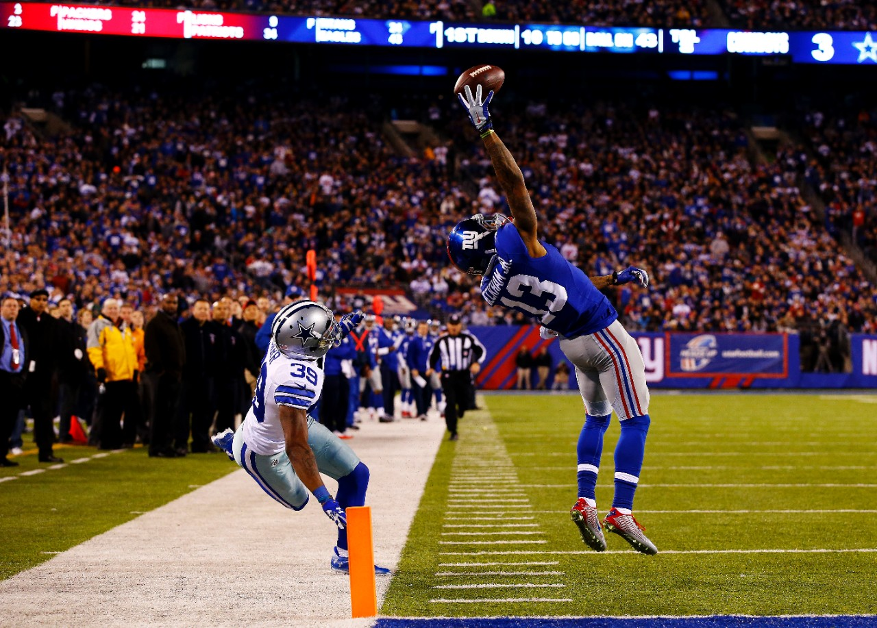 Odell Beckham Jr.: Watch the Giants wide receiver make the ...